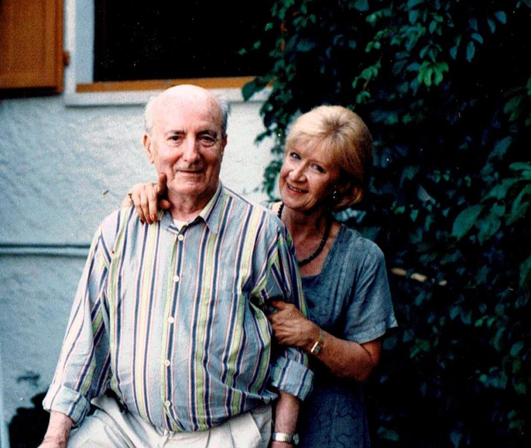 Philippe Artias con sua moglie Lydia