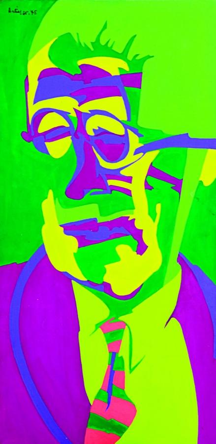ritratto di James Joyce